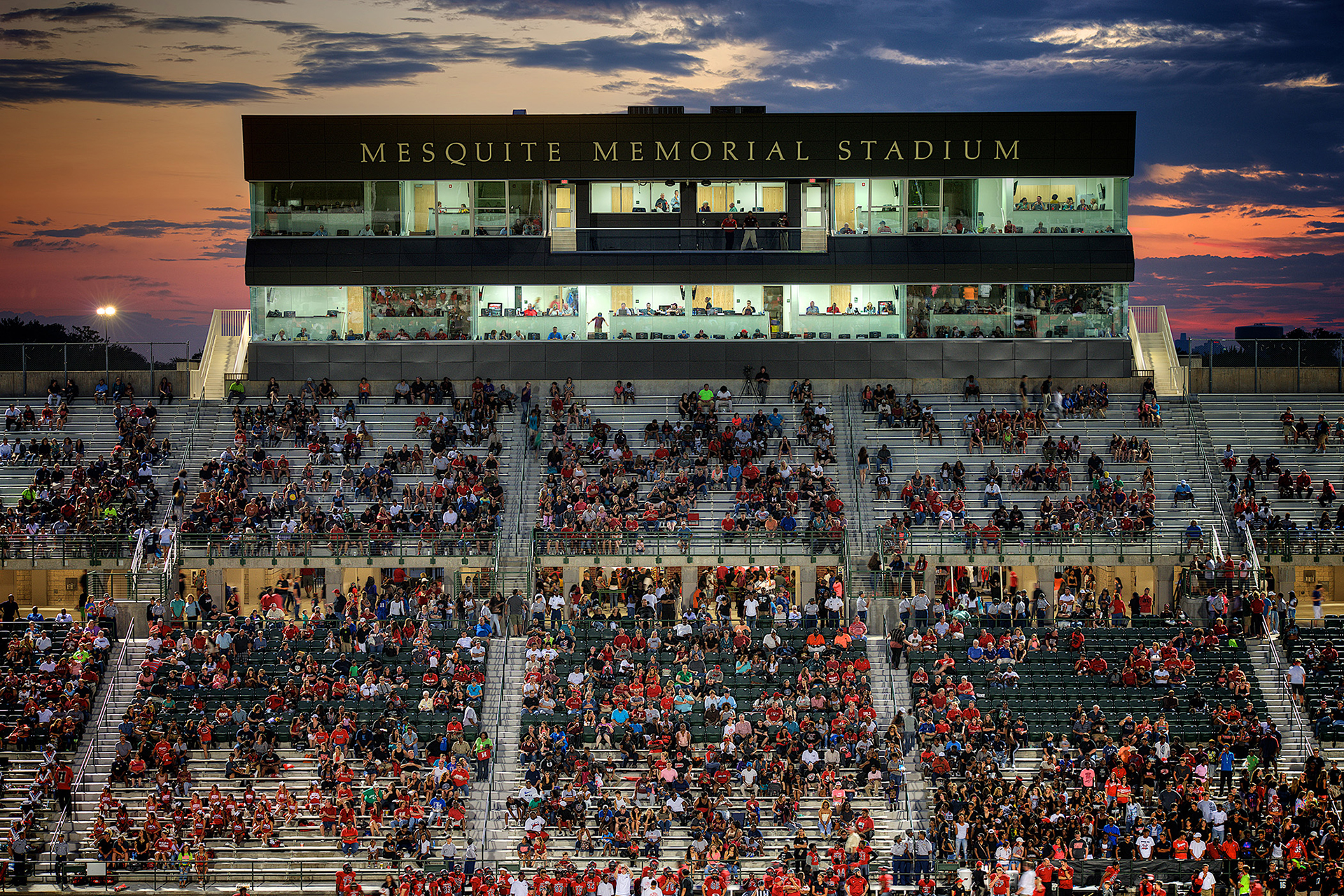 RWB Provided Engineering Services for Mesquite Memorial Stadium