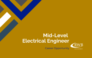 Make your next career move as an electrical engineer with RWB Consulting Engineers.