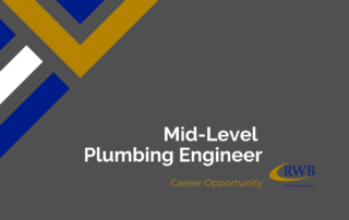 Join RWB as a plumbing engineer.