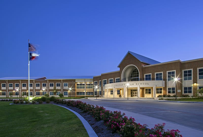 RWB Consulting Engineers provided MEP design services for Midlothian Heritage High School