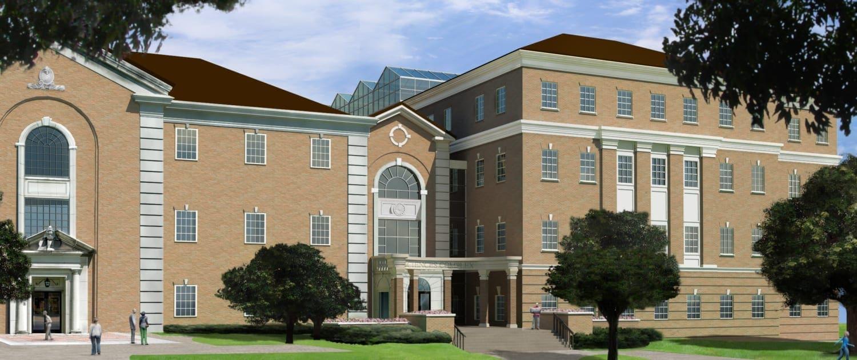 UNT Science Building