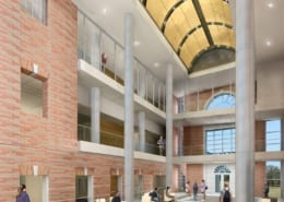UNT Science Building Interior Rendering