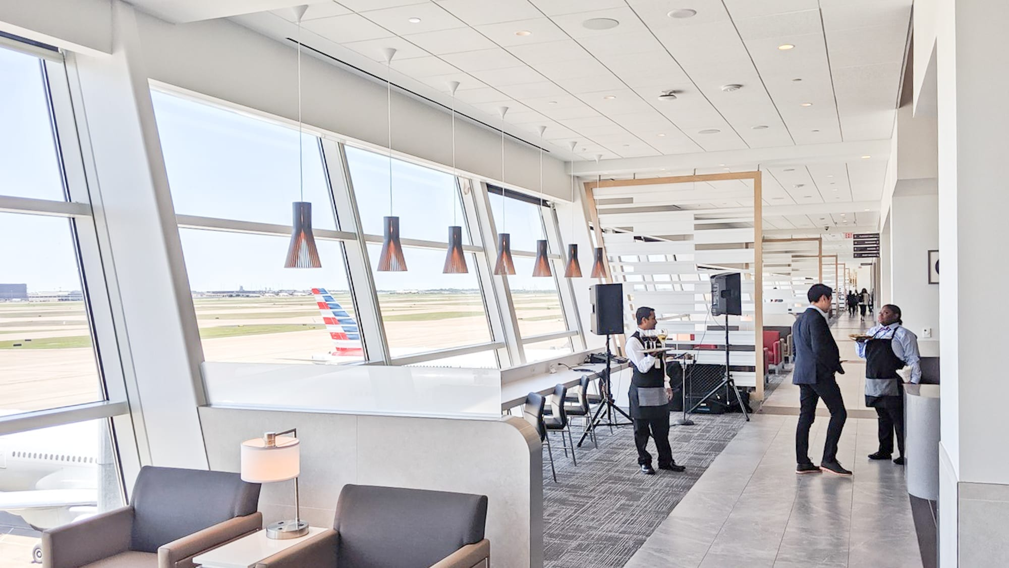 American Airlines VIP Club Lounge