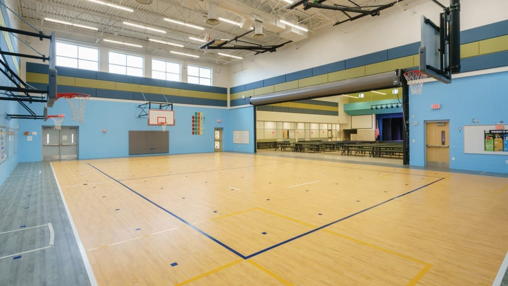 Bunche Gym and Cafeteria