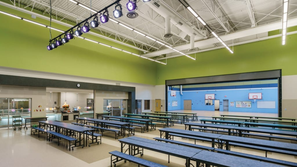 Ralph Bunche Elementary School ES Cafeteria and Gym