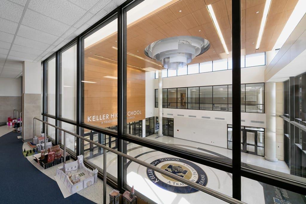 Keller HS Foyer View
