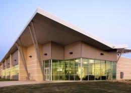 NTCC Ag Building Exterior