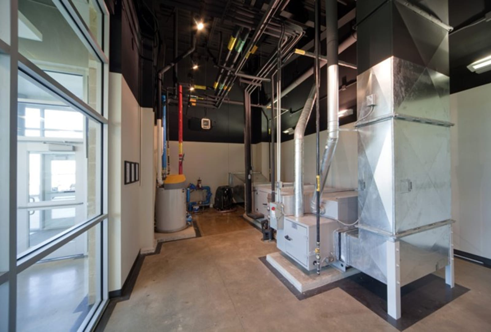 HVAC Equipment at NTCC Ag Campus