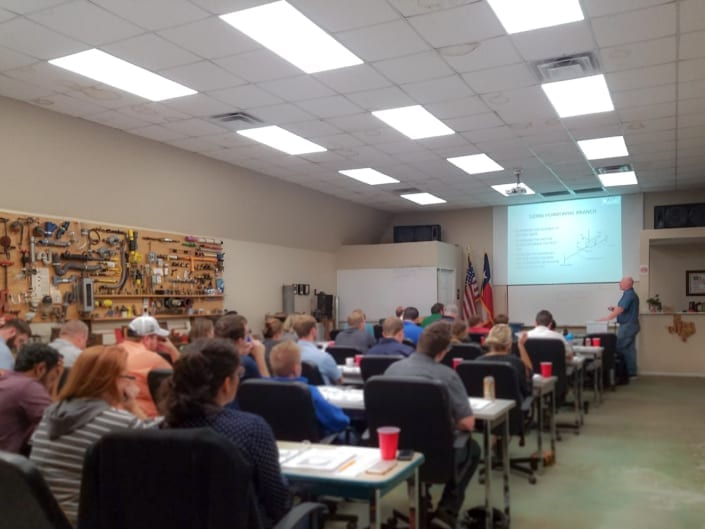RWB Senior Associate Michael Danielson teaches the ASPE Plumbing Design Course
