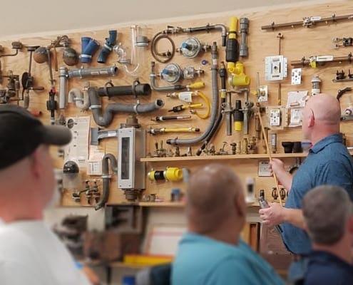 RWB Senior Associate Michael Danielson Teaches a Plumbing Course