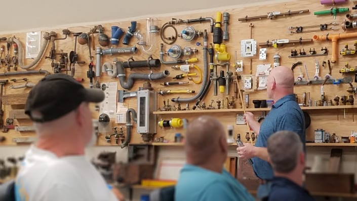 RWB Senior Associate Michael Danielson Teaches a Plumbing Course