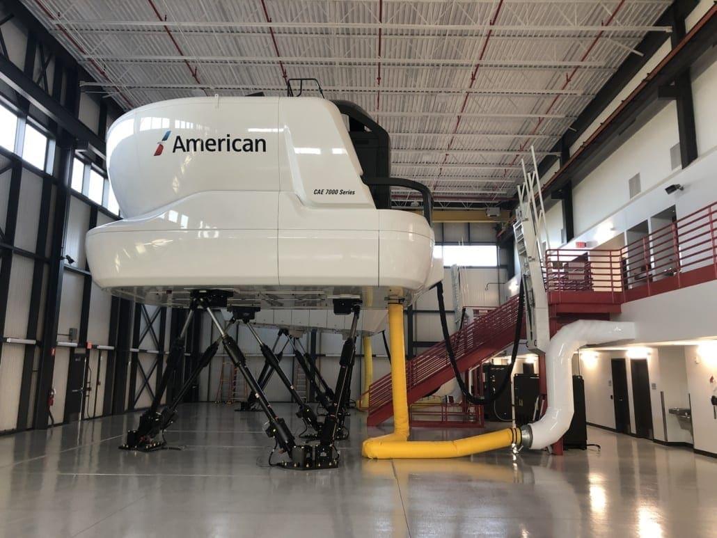 Flight Simulator - American Airlines Flight Training Academy A320 Simulator