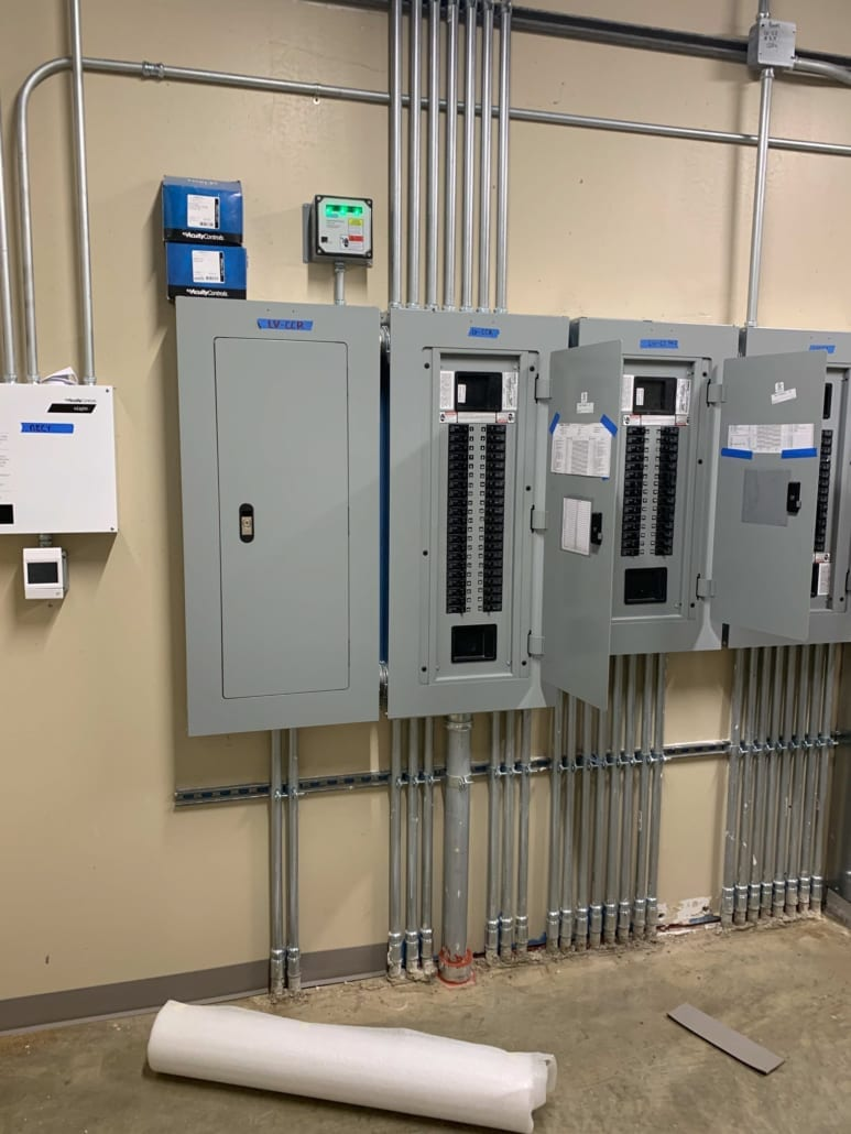 Marine Creek Middle School - Electrical Panels